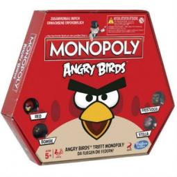 фото Настольная игра Hasbro «Монополия. Angry Birds»