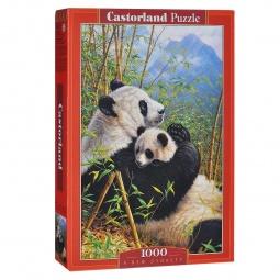 фото Пазл 1000 элементов Castorland «Панды»