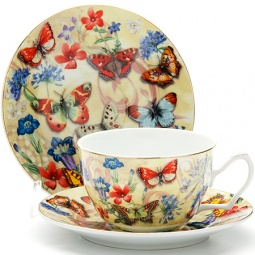 Купить Чайный набор Loraine LR-24588 «Бабочки»