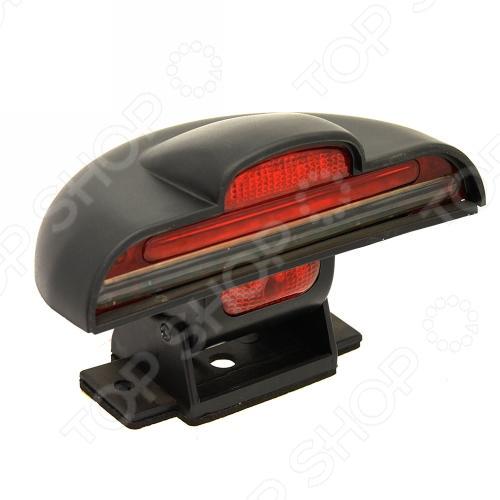 Стоп-сигнал дополнительный Xinli N-51012Другая автоэлектроника<br>Стоп-сигнал дополнительный Xinli N-51012 со стробоскопом на подставке служит для предупреждения водителей, которые движутся за автомобилем, о снижении скорости или остановке автомобиля, на котором установлен сигнал. Стоп-сигнал устанавливается на тормозном приводе и загорается при нажатии водителем на тормозную педаль.<br>