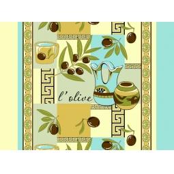 Купить Полотенце вафельное ТексДизайн «Оливки»