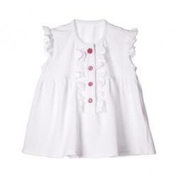 Купить Блузка детская Katie Baby Petite rose ЯВ101453. Цвет: белый