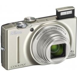 фото Фотокамера цифровая Nikon CoolPix S8200. Цвет: серебристый