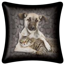 Купить Подушка декоративная Magic lady Dog cat