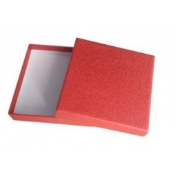 фото Коробка подарочная Феникс-Презент «Алый». Размер: XS (9х9 см). Высота: 2 см