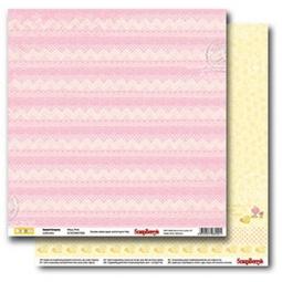 фото Бумага для скрапбукинга двусторонняя ScrapBerry's «Розовые сны»