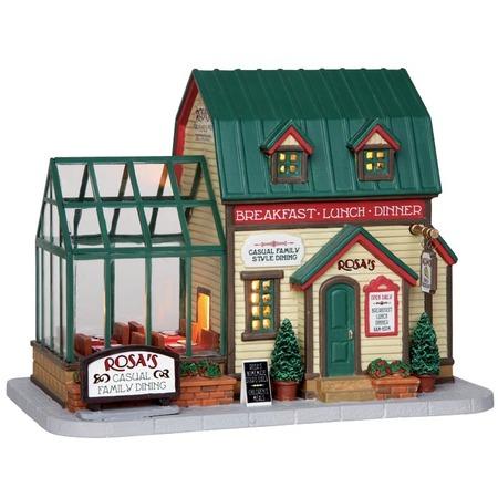 Купить Домик керамический Lemax «Семейный ресторан Розы»