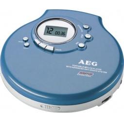 фото MP3-плеер AEG CDP-4212. Цвет: синий