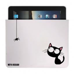 Купить Чехол для iPad Mitya Veselkov «Кошка и паучок»
