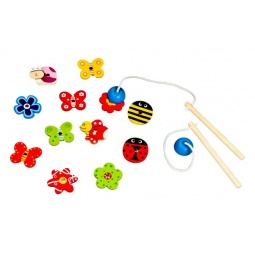 фото Игрушка развивающая Mapacha «Ловим бабочек»