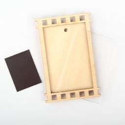 фото Заготовка деревянно-акриловая для изготовления магнита RTO «Фотокадр»