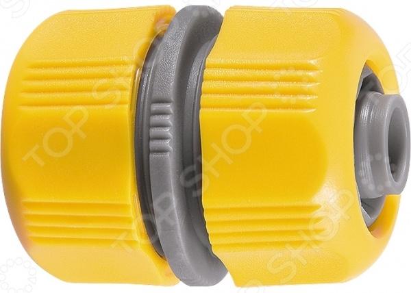 Муфта ремонтная PALISAD LUXE 66436Муфты<br>Муфта ремонтная PALISAD LUXE 66436 изделие, используемое для быстрого соединения двух участков поливочного шланга в процессе ремонтных работ. Это необходимое дополнение для садового инвентаря, которое поможет вам орошать грядки и клумбы. Муфта изготовлена из ударопрочного ABS-пластика. Диаметр соединительной резьбы 1 2 .<br>