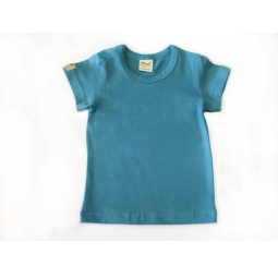 фото Футболка для новорожденных Ёмаё. Цвет: голубой. Размер: 22. Рост: 74 см