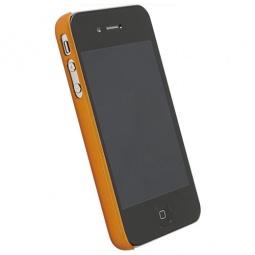 фото Накладка Krusell ColorCover для iPhone 4. Цвет: оранжевый