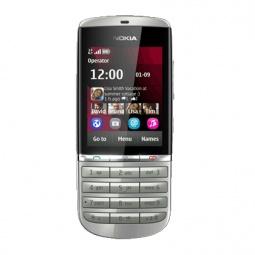 фото Мобильный телефон Nokia 300 Asha. Цвет: серебристый