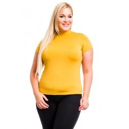 фото Водолазка Mondigo XL 216. Цвет: горчичный. Размер одежды: 52