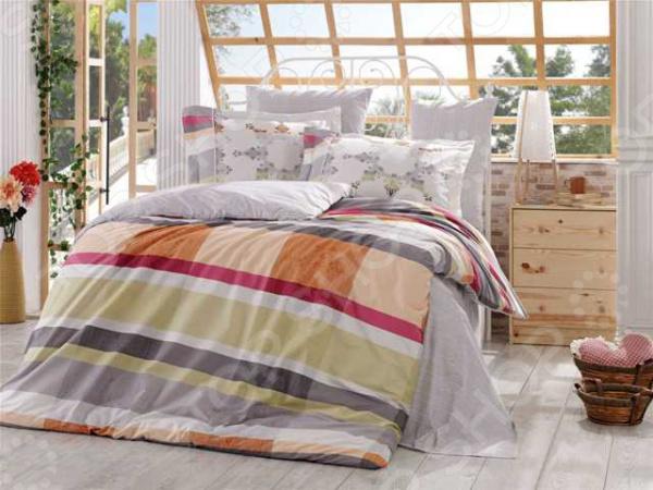 Комплект постельного белья Hobby Home Collection Alanza. Цвет: серый. ЕвроЕвро<br>Спокойный и здоровый сон для человека также жизненно необходим, как и свежий воздух, ведь именно выспавшись, вы полны новых идей и сил для их реализации. Но возможен ли приятный сон на твердой кровати или некачественном постельном белье Конечно же, нет. Именно поэтому мы с гордостью представляем загадочный, фантастически красивый и роскошный комплект постельного белья от производителя Hobby.  Hobby Alanza это постельное белье нового поколения , предназначенное для молодых и современных людей, желающих создать модный интерьер спальни и сделать быт более комфортным. Комплект изготовлен из поплина. Материал мягкий и приятный на ощупь, не требует специального ухода, выдерживает множество стирок и великолепно держит форму. Эта ткань более прочная, чем аналогичная по плотности бязь. Яркий цвет и высокое качество продукции гарантируют, что атмосфера вашей спальни наполнится теплотой и уютом, а вы испытаете множество сладких мгновений спокойного сна. При изготовлении постельного белья Hobby используются устойчивые гипоаллергенные красители. Почему стоит выбрать постельное белье от бренда Hobby  Изготовлено из экологически чистого, гипоаллергенного материала.  Отличается высокой гигроскопичностью и хорошо пропускает воздух.  Дополнено геометрическим рисунком, который оживит помещение.  Легко в уходе, не выцветает даже после множества стирок.  Ткань имеет 63 переплетения нитей на 1 см2. В качестве сырья для изготовления данного комплекта постельного белья использованы нити хлопка. Натуральное хлопковое волокно известно своей прочностью и легкостью в уходе. Волокна хлопка состоят из целлюлозы, которая отлично впитывает влагу. Хлопок дышит и согревает лучше, чем шелк и лен. Поэтому одежда из хлопка гарантирует владельцу непревзойденный комфорт, а постельное белье приятно на ощупь и способствует здоровому сну.<br>