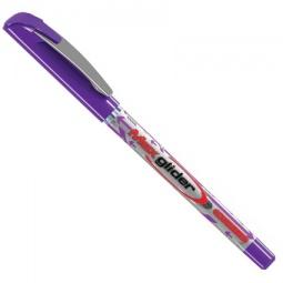 фото Ручка шариковая Erich Krause Ultra Glide Plus Max Glider. Цвет чернил: фиолетовый. Цвет корпуса: фиолетовый