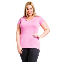 фото Футболка Mondigo XL 28544. Цвет: темно-розовый. Размер одежды: 48