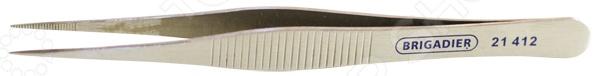 Пинцет монтажный с прямыми губками Brigadier 21412 топор барс 21412