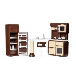 Купить Набор мебели игрушечный Огонек для кухни «Коллекция»