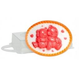 Купить Форма пластиковая Выдумщики «Влюбленные медвежата»
