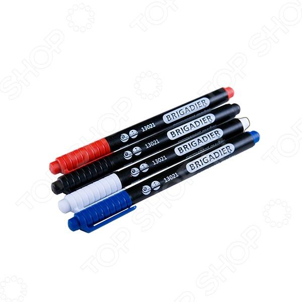 Набор маркеров перманентных для всех поверхностей Brigadier 13021