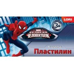Купить Набор пластилина Lori «Человек-паук» 291132