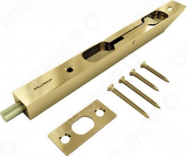 Ригель CHINAРигель CHINA - представляет собой вертикальный врезной засов для дверей. Модель выполнена из материала ЦАМ, инструментальной стали. Также имеется высококачественное покрытие с нанесением слоя лака. Модель выполнена из высококачественных материалов на высокоточном оборудовании, что позволяет значительно продлить срок эксплуатации изделия.<br>