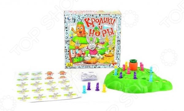Игра настольная Shantou Gepai «Кролики и норы» настольная игра shantou gepai аэрофутбол 5016