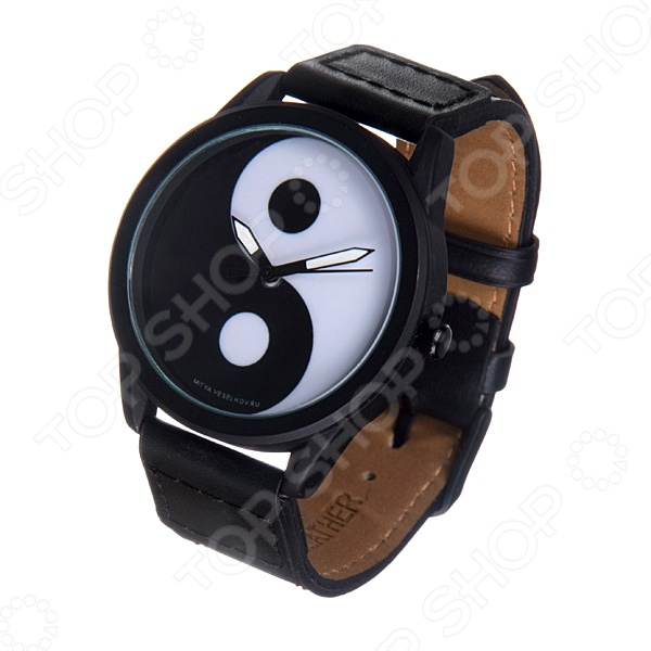 Часы наручные Mitya Veselkov «Инь и Ян» MVBlack