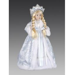 фото Кукла под елку Holiday Classics «Снегурочка в шубе и кокошнике»