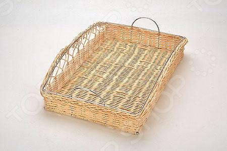 Хлебница плетёная Mayer&Boch MB-20940 4237 хлебница пласт mb мет кр х6
