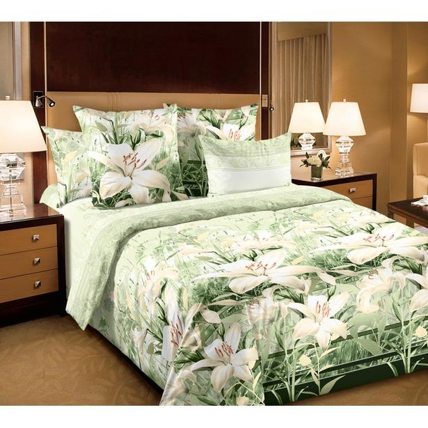 фото Комплект постельного белья Белиссимо «Луиза». 2-спальный. Размер простыни: 160х200 см
