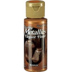 Купить Краска акриловая DecoArt Dazzling Metallics