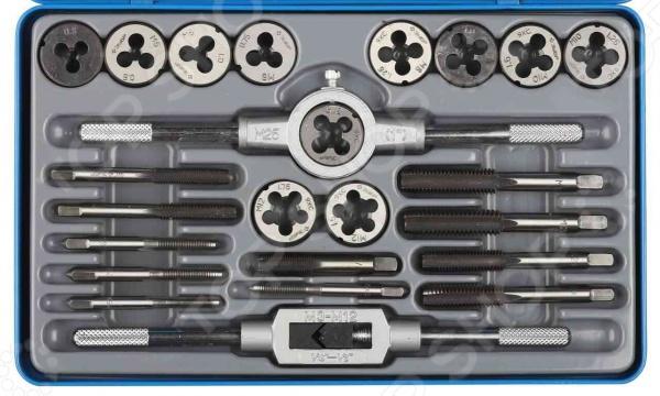 Набор резьбонарезного инструмента Зубр «Эксперт» 28116-H24 набор плашек и метчиков зубр эксперт 35 шт