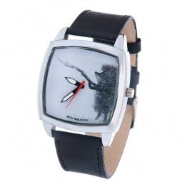 фото Часы наручные Mitya Veselkov «Ежик с веточкой» CH
