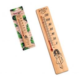 фото Термометр для бани EVA «Сауна леди»