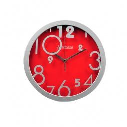 фото Часы настенные Marmiton «Цифры». Цвет: красный