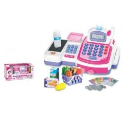 фото Касса игрушечная Shantou Gepai с набором продуктов 5911