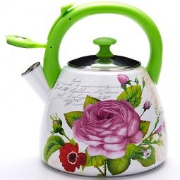 Купить Чайник со свистком Mayer&Boch MB-23934 «Розы»