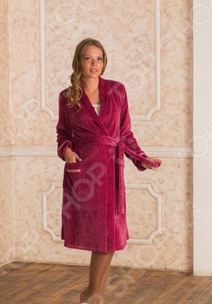 Халат для беременных Nuova Vita 304.1. Цвет: розовый