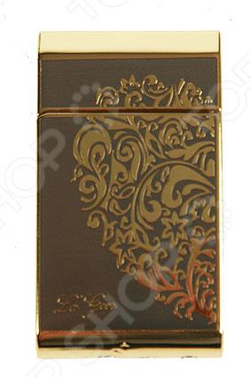 Зажигалка La Geer с пьезоэлементом 85324Зажигалки<br>Зажигалка La Geer с пьезоэлементом 85324 подарочная зажигалка, выполненная из прочного металла с элементами из пластика. Имеет оригинальную отделку и декоративные вставки. Отличный дизайн делает эту зажигалку желанным подарком для друзей и близких. Не рекомендуется для воспламенения ламп, работающих га пропане, бутане или бензине. Избегайте попадания влаги внутрь.<br>