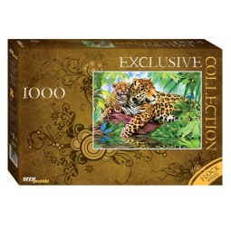 фото Пазл 1000 элементов Step Puzzle Леопарды