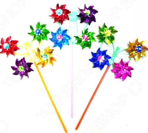 Игрушка-вертушка Shantou Gepai «Бабочка». В ассортименте колышек садовый miolla бабочка в ассортименте