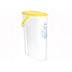 фото Контейнер для стирального порошка IDEA М 1240. Цвет: желтый