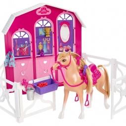 Купить Набор для кукол Mattel «Конюшня и лошадь»