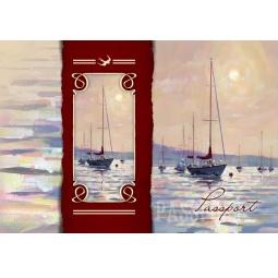 фото Обложка для паспорта Феникс-Презент «Морской пейзаж»