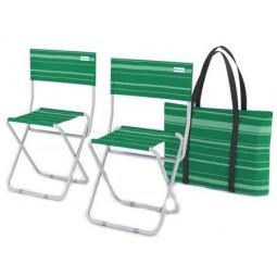 фото Набор складных стульев ZAGOROD 202. В ассортименте