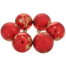 фото Набор новогодних шаров Феникс-Презент 35496